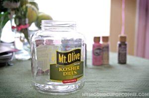 Mother's Day DIY Fingerprint Jar Vase