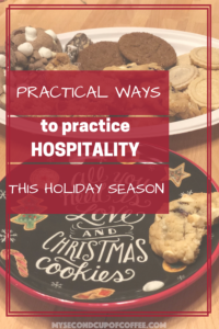How to Practice Hospitality this Holiday Season