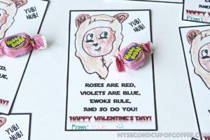 Ewok Valentines