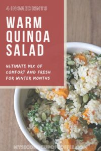 warm quinoa salad
