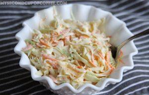 sugar free coleslaw